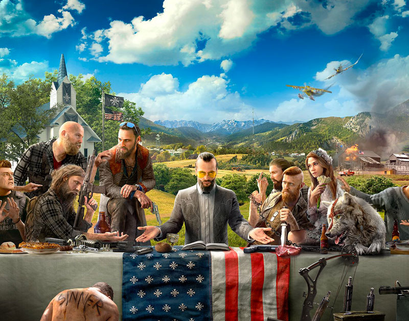 Far Cry 5 - Gold Edition (Xbox One), Sensation Games, sensationgames.com