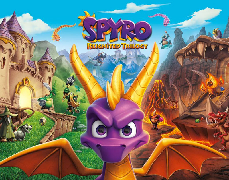 Spyro Reignited Trilogy (Xbox One), Sensation Games, sensationgames.com
