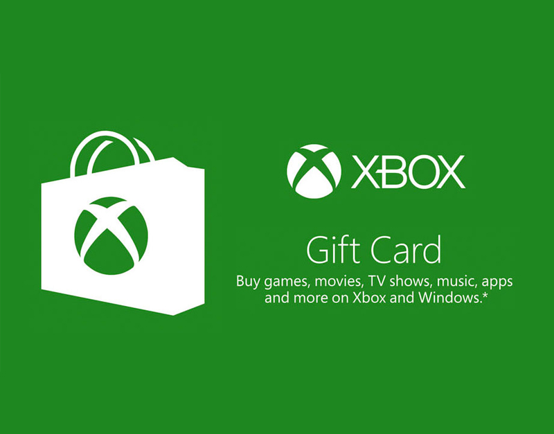 Xbox Live Gift Card, Sensation Games, sensationgames.com